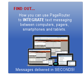 PageRouter ENTERPRISE paging systems |Hospitals-Factories|